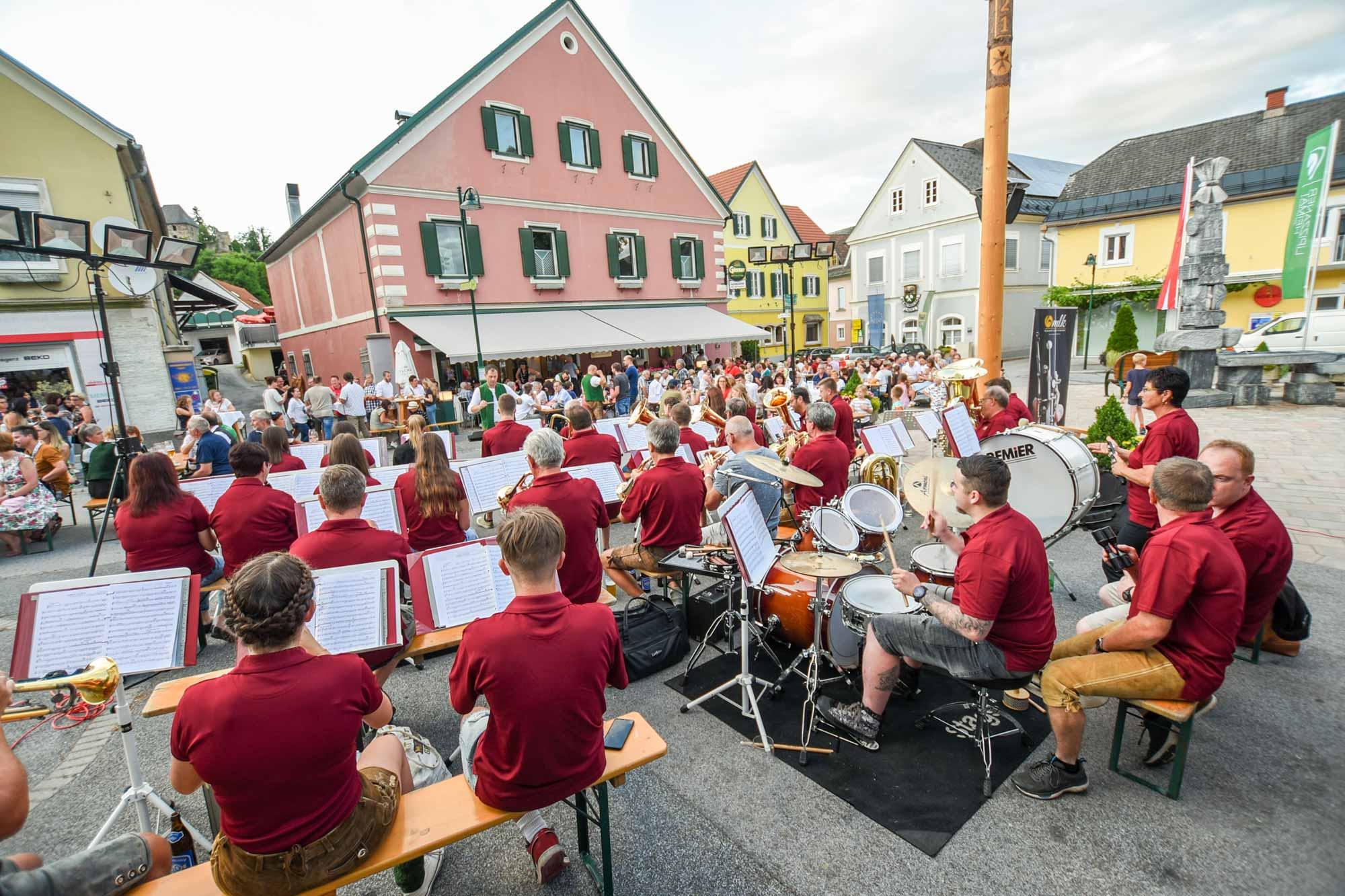 Öffentliche Musikprobe Musikverein Ligist-Krottendorf
